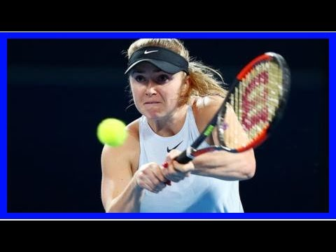 Simona Halep won Shenzhen opened as Elina Svitolina titled BrisbaneBy Sport LD News