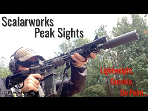 Scalarworks Peak Iron Sights, My Thoughts...