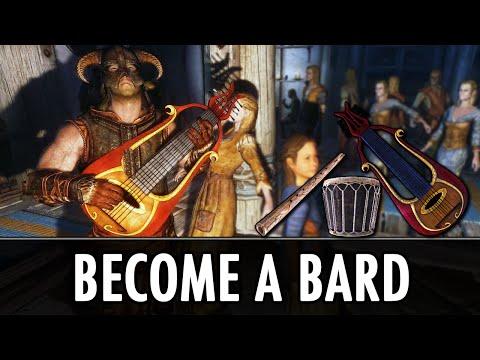 Skyrim Mod: Become a Bard