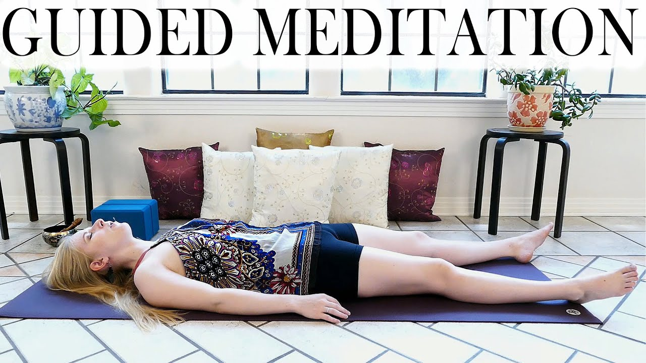 Download Guided Meditation For Deep Relaxation, Anxiety, Sleep or Depression – Beginners Yoga Meditation