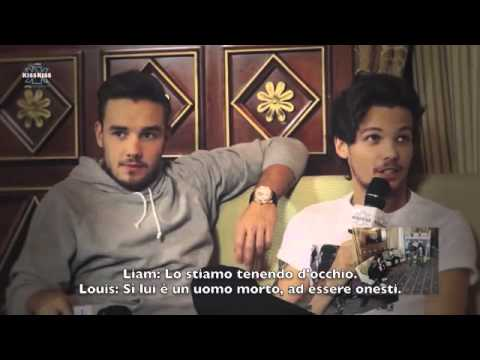 One Direction on Radio KissKiss, Milano - SUB ITA