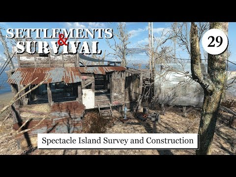 Settlements and Survival - Spectacle Island Survey and Construction