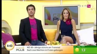 Repeat youtube video süsseste und sexyiste Moderatorin im deutschen TV-Raum!