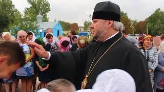 Захаровка: встреча Владыки Алексия