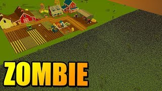 50000 ZOMBIE vs FARMA | SwarmZ (Symulator Walk)