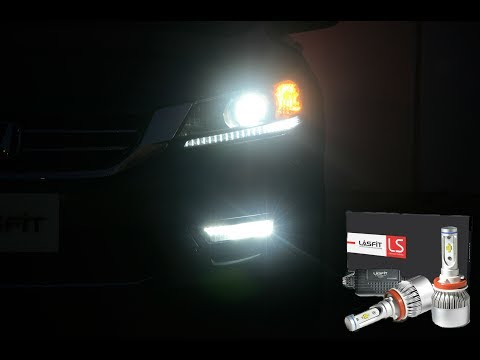 Ultra Bright LED Fog Lights In a 2014 Honda Accord Sports --How to Install