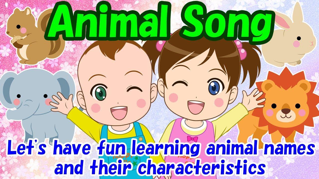 【Animal Song】Educational videos | Nursery Rhymes | Kids Songs | Lifestyle habits | HoppySmile