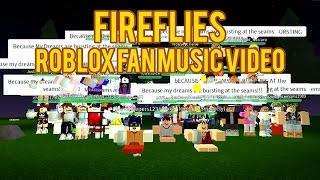 Owlcity - Fireflies (Roblox Fan Music Video)