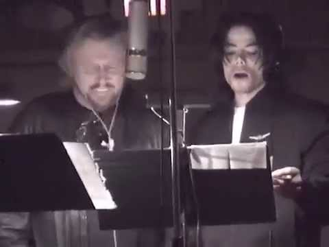 Michael Jackson and Barry Gibb All in your Name - YouTube