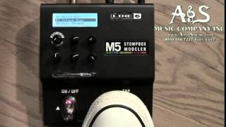 Line 6 M5 Modeling Stompbox Demo