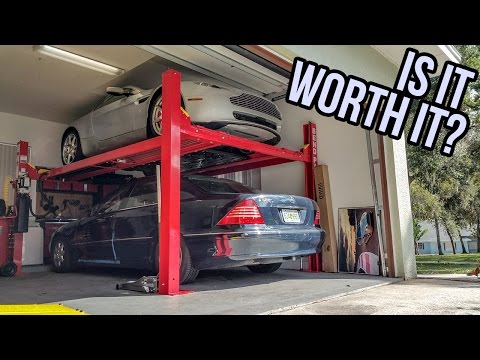 Thumbnail: Here's How Much It Costs To Buy A Four Post Lift For Your Garage