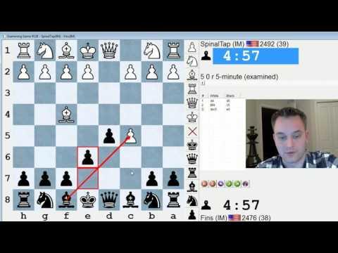 Blitz Chess #422: IM Thomas Bartell vs. IM Bartholomew (London System)