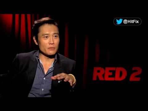 Byunghun Lee talks 'Red 2,' working with Bruce Willis, and the strength of origami