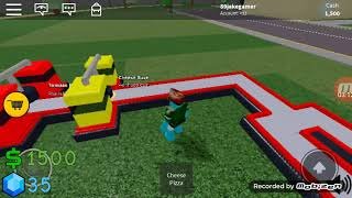 ROBLOX pizza delivery game