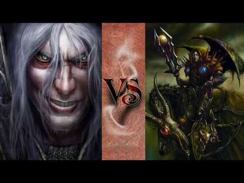 WoW Versus #3 - Arthas Menethil VS Teron Gorefiend