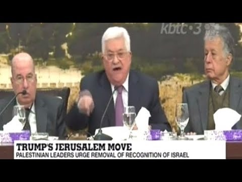 Palestinian President Says Israel Has Killed The Oslo Agreement!