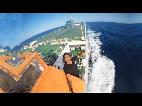 CARGO SHIP TRAVEL VOYAGE ENDS! - EPIC JOURNEY!