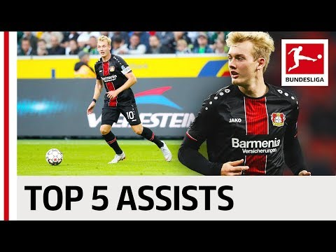 Julian Brandt - Top 5 Assists
