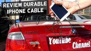ZDATT iPhone Cable Review and Discount code | Tough iPhone Cable