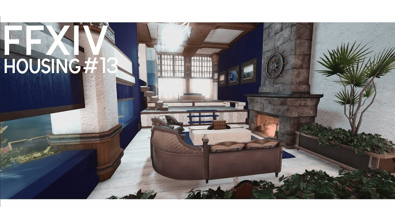 FFXIV HOUSING - Ocean Breeze - YouTube