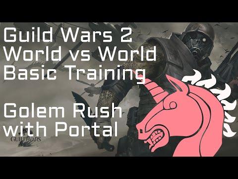 GW2 WvW Basic Training: Golem Rushing with Mesmer Portals