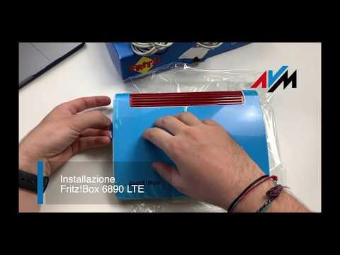 Fritz!Box 6890 LTE - Installazione