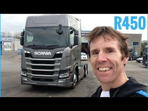 SCANIA New Generation R450 Truck Full Tour + Test Drive - Stavros969 4K