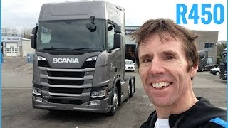 SCANIA New Generation R450 Truck Full Tour + Test Drive - Stavros969 4K