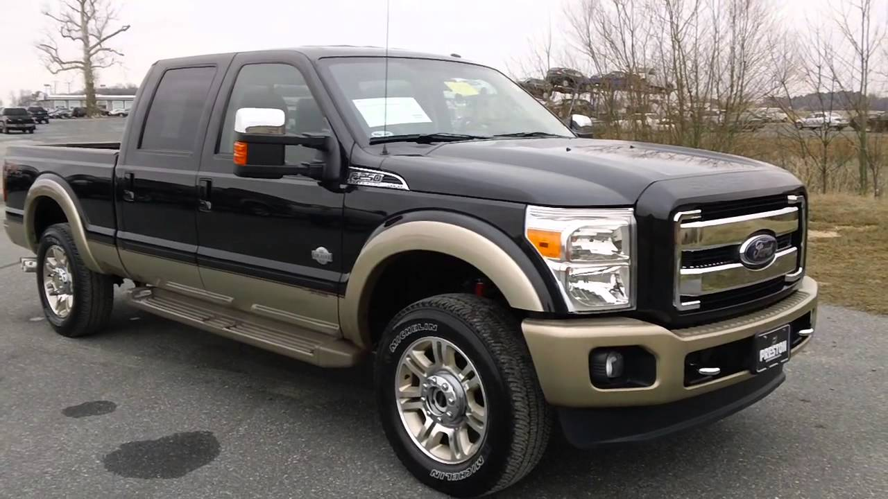 2012 ford f250 diesel 4wd king ranch powerstroke v8. Black Bedroom Furniture Sets. Home Design Ideas