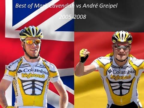André Greipel vs. Mark Cavendish - 2005-2008 - Cycling Battles #2