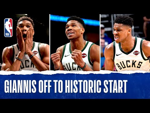 Giannis Makes HISTORY