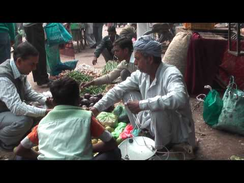Varanasi market