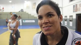 Amanda Nunes Explains Why She's Not interested in Fighting Cris Cyborg thumbnail