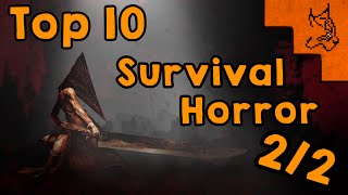 Top 10 Survival Horror favoritos (5-1)