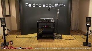 Raidho XT 1, Scansonic, Aavik Acoustics, Ansuz Cables, RMAF
