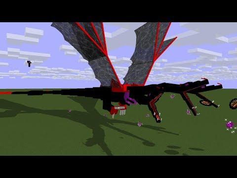 Богатырские Выживания Майнкрафт - Супер Драконы, Пауки, Эндер Динозавры (9 серия)