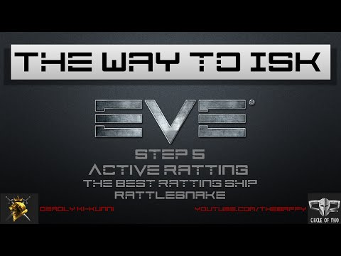 4K EVE Online - The way to ISK Step 5 - Best Active Ratting ship