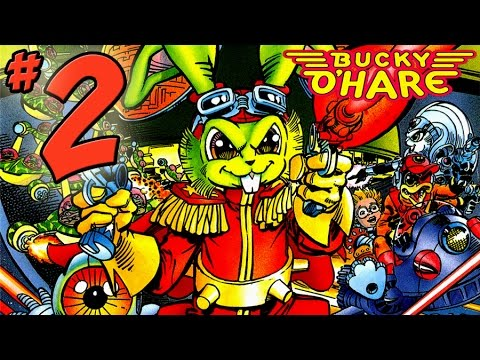 Bucky O'Hare Gameplay Walkthrough - PART 2 - Rabbit Death Scream & Bucky O'Hare Lore