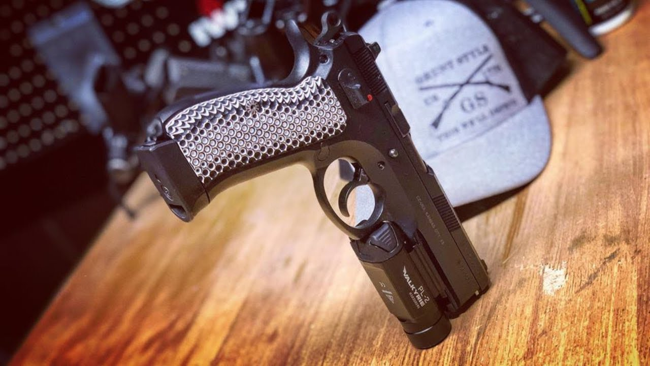 COOLHAND CZ 75 Full Size G10 Grips OPS Texture
