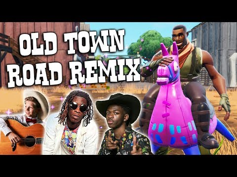 """Fortnite Montage - """"OLD TOWN ROAD REMIX"""" (Lil Nas X, Young Thug, Mason Ramsey, & Billy Ray Cyrus)"""