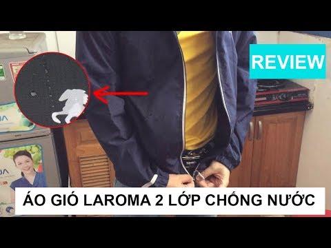 Review Áo Khoác Gió Nam Laroma 2 Lớp Chống Nước 12/10/2018