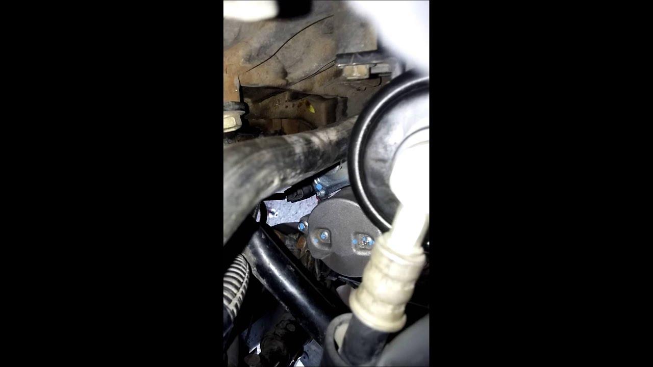 Change fuel filter 99 Toyota Tacoma 2wd - YouTubeYouTube