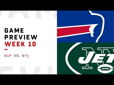 Buffalo Bills vs New York Jets  Week 10 Game Preview  Pro Football Focus