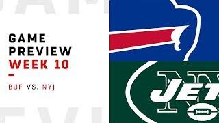 Buffalo Bills vs. New York Jets | Week 10 Game Preview | Pro Football Focus