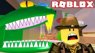 ESCAPE THE GIANT SNAKE | ROBLOX WILD WEST OBBY