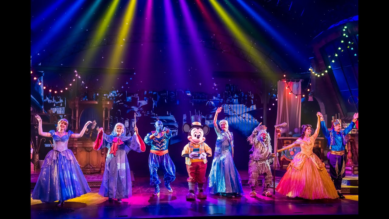 [hd] Full Show  Spectacle Mickey Et Le Magicien