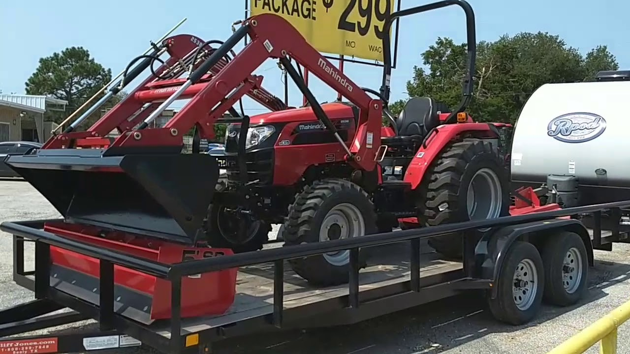 Mahindra 2538 HST 4WD Tractor Package