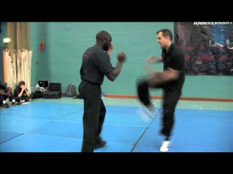 Eric Wilson Wing Chun Leg Sequence