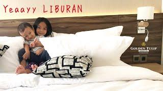 Yeay LIBURAN 😍 Tips Aman Berlibur Ala Zara   Room Tour Golden Tulip Essential Hotel Tangerang