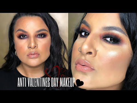Smoky Anti Valentines Day Makeup Toni Allure Beauty Collab